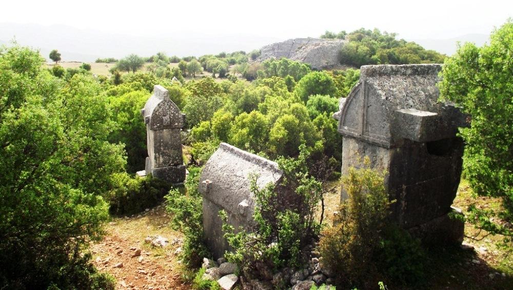 kyaenai antik kenti kaş antalya.JPG