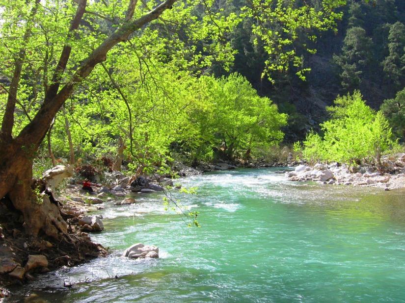 Köprüçay, mermer ocağı ruhsat sahasının etkileme alanında kalıyor.JPG