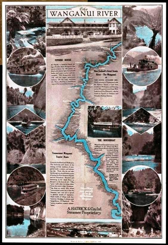 Whanganui nehri ulusal park olarak koruma altındaydı.jpg