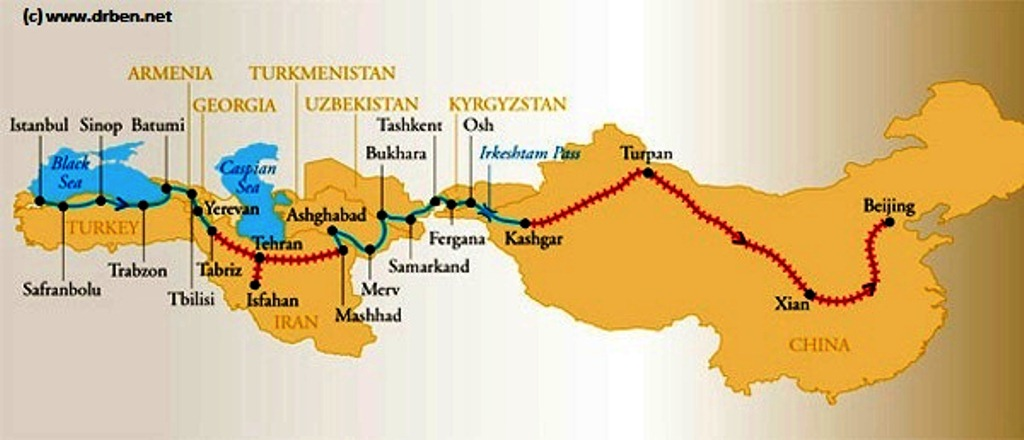 modern silk road China's plan for a modern silk road of railways, ports and other facilities linking asia with europe hit a $14 billion pothole in pakistan pakistan's rela.
