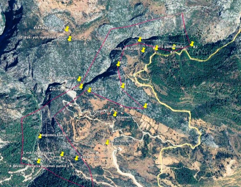 mermer ocağı ruhsatı sahası içerisindeki kültür mirası ve bulunduğu alanlar.jpg