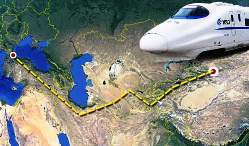 Türkiye ipek yolu projesinin demir yolu ağında yer alıyor.jpg