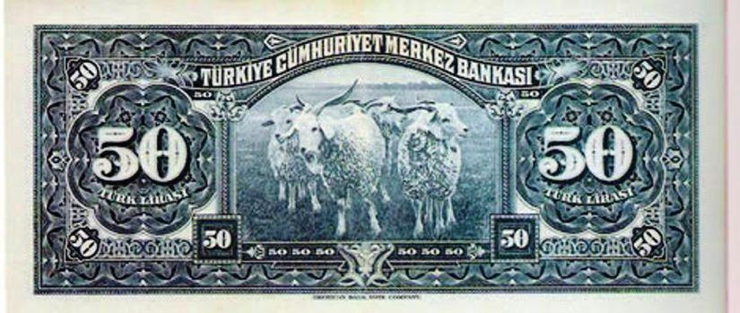 TİFTİK KEÇİLERİ BİR ZAMANLAR BANKNOTLARDA YER ALIYORDU (1942).jpg