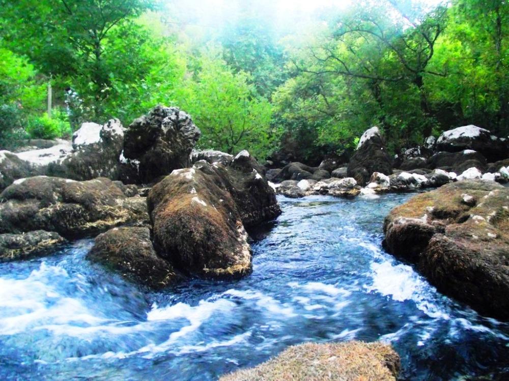 Marıngözü denilen su kaynağı köylüler için kutsal.JPG