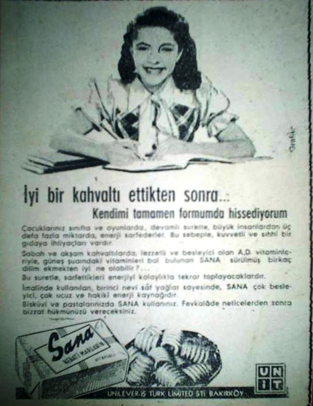 sana margarin ilk reklamlarından biri 1956.jpg