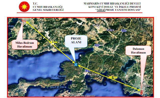 yazlık saray iki havaalanının tam ortasında bulunuyor.png