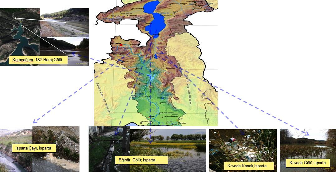 karacaören baraj gölüne çok sayıda su kaynağından kirlilik ulaşıyor.png
