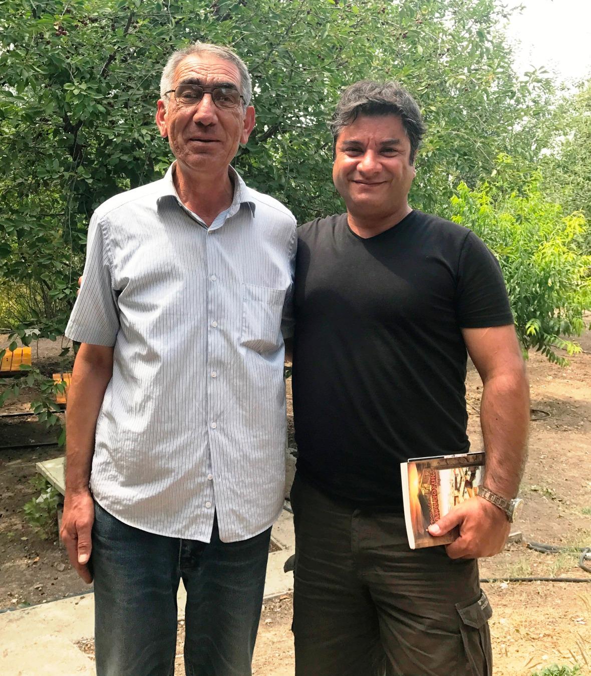 Sadrettin Dural ile Çatalhöyük'te konuştuk.JPG