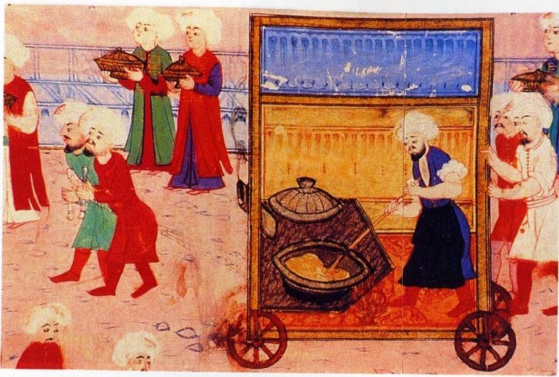 sarayın aşure dağıtma geleneği osmanlı'nın son dönemine kadar sürdü.jpg