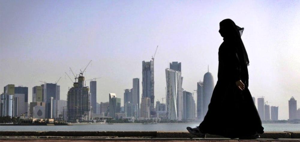 Katar gökdelenlerin kapladığı bir kent.jpg