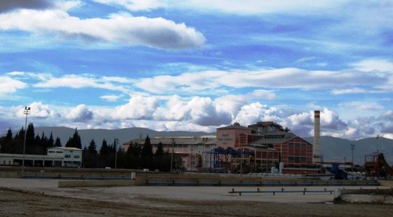 Özelleştirilmek istenen 14 fabrikadan biri olan Burdur Şeker Fabrikası.JPG